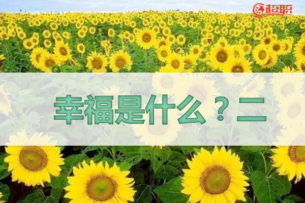幸福是什么?二